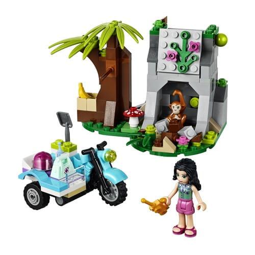 Купить Конструктор Lego Friends Лего Подружки Джунгли - Мотоцикл скорой помощи в интернет магазине игрушек и детских товаров