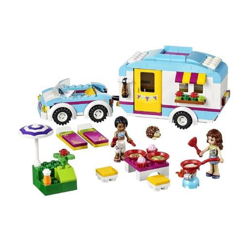 Купить Конструктор Lego Friends Лего Подружки Летний фургон в интернет магазине игрушек и детских товаров