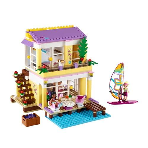 Купить Конструктор Lego Friends Лего Подружки Пляжный домик Стефани в интернет магазине игрушек и детских товаров