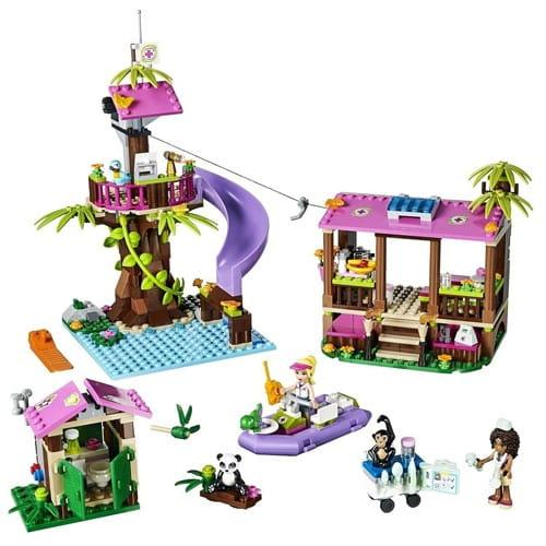 Купить Конструктор Lego Friends Лего Подружки Джунгли - Штаб спасателей в интернет магазине игрушек и детских товаров