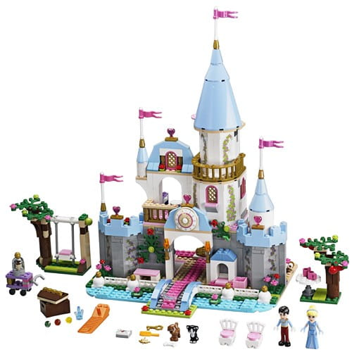 Купить Конструктор Lego Disney Princesses Лего Принцессы Дисней Тайные сокровища Ариэль в интернет магазине игрушек и детских товаров