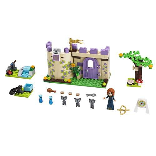 Купить Конструктор Lego Disney Princesses Лего Принцессы Дисней Горные игры Мериды в интернет магазине игрушек и детских товаров