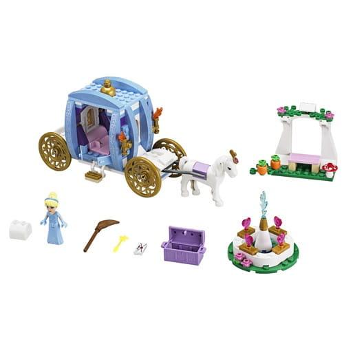 Купить Конструктор Lego Disney Princesses Лего Принцессы Дисней Заколдованная карета Золушки в интернет магазине игрушек и детских товаров