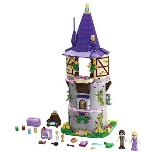 Купить Конструктор Lego Disney Princesses Лего Принцессы Дисней Башня Рапунцель в интернет магазине игрушек и детских товаров