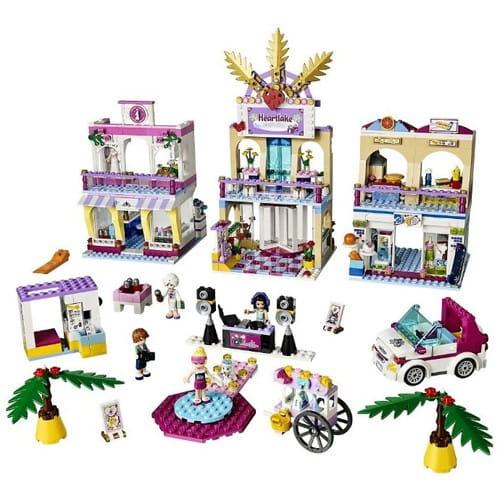 Купить Конструктор Lego Friends Лего Подружки Торговый центр Хартлейк Сити в интернет магазине игрушек и детских товаров
