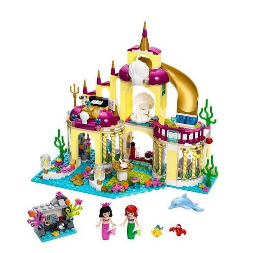 Купить Конструктор Lego Disney Princesses Лего Принцессы Дисней Подводный дворец Ариэль в интернет магазине игрушек и детских товаров