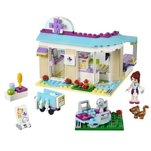 Купить Конструктор Lego Friends Лего Подружки Ветеринарная клиника в интернет магазине игрушек и детских товаров