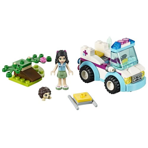 Купить Конструктор Lego Friends Лего Подружки Ветеринарная скорая помощь в интернет магазине игрушек и детских товаров