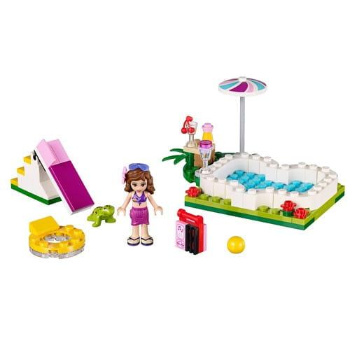 Купить Конструктор Lego Friends Лего Подружки Маленький бассейн Оливии в интернет магазине игрушек и детских товаров
