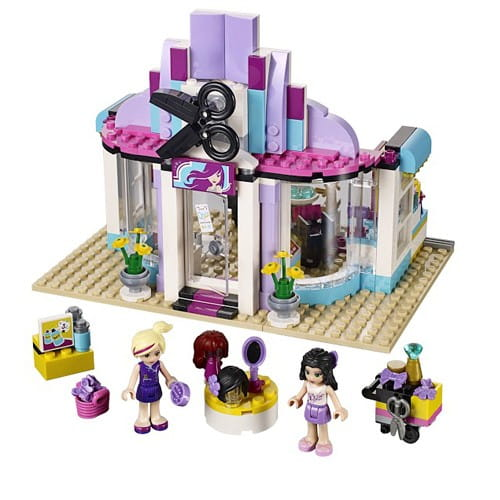 Купить Конструктор Lego Friends Лего Подружки Парикмахерская в интернет магазине игрушек и детских товаров