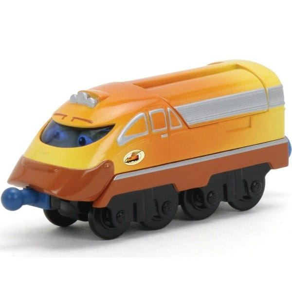 Металлический паровозик Chuggington LC54017 Die-Cast Чаггер-суперпоезд