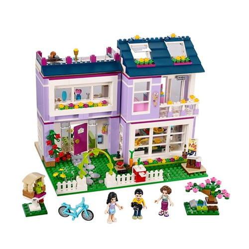 Купить Конструктор Lego Friends Лего Подружки Дом Эммы в интернет магазине игрушек и детских товаров
