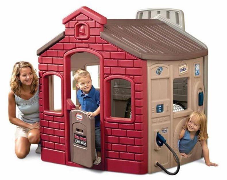 Игровой мульти-домик Little Tikes 444D 2 (спорт, школа, заправка и магазин)