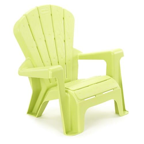 Купить Стульчик садовый Little Tikes - светло-зеленый в интернет магазине игрушек и детских товаров