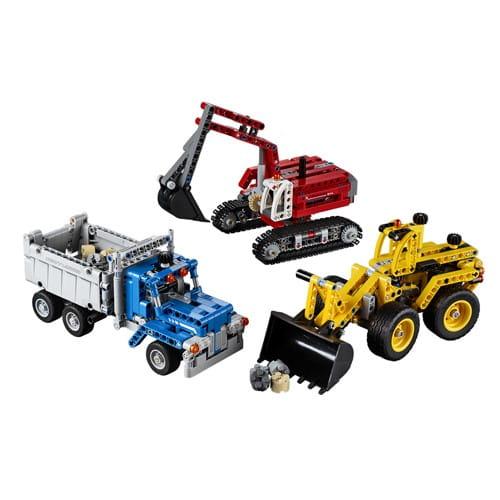 Купить Конструктор Lego Technic Лего Техник Строительная команда в интернет магазине игрушек и детских товаров