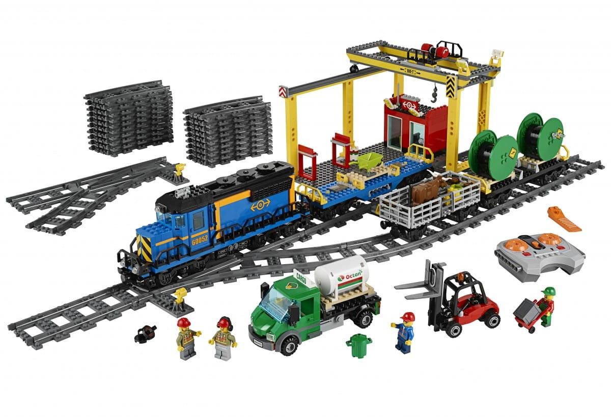 Конструктор Lego 60052 City Лего Город Грузовой поезд