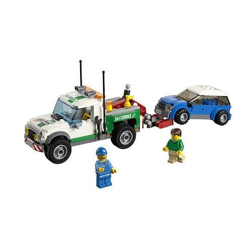 Конструктор Lego City Лего Город Буксировщик автомобилей