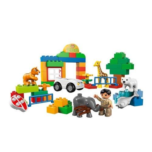 Купить Конструктор Lego Duplo Лего Дупло Мой первый зоопарк в интернет магазине игрушек и детских товаров