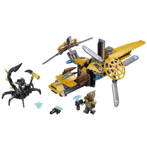 Купить Конструктор Lego Legends of Chima Лего Легенды Чимы Двухроторный вертолет Лавертуса в интернет магазине игрушек и детских товаров