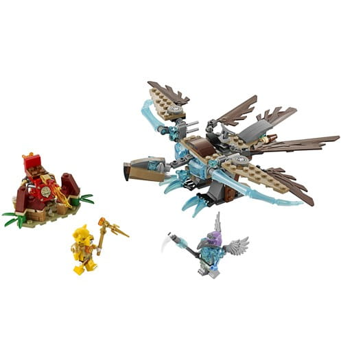 Купить Конструктор Lego Legends of Chima Лего Легенды Чимы Ледяной планер Варди в интернет магазине игрушек и детских товаров