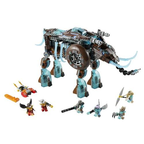 Купить Конструктор Lego Legends of Chima Лего Легенды Чимы Ледяной мамонт-штурмовик Маулы в интернет магазине игрушек и детских товаров