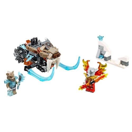 Купить Конструктор Lego Legends of Chima Лего Легенды Чимы Саблецикл Стрейнора в интернет магазине игрушек и детских товаров