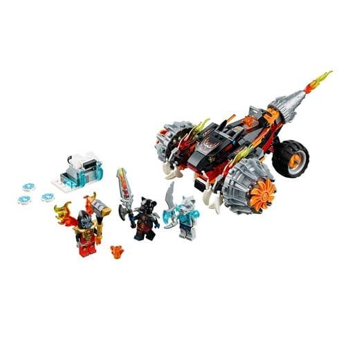 Купить Конструктор Lego Legends of Chima Лего Легенды Чимы Огненный вездеход Тормака в интернет магазине игрушек и детских товаров