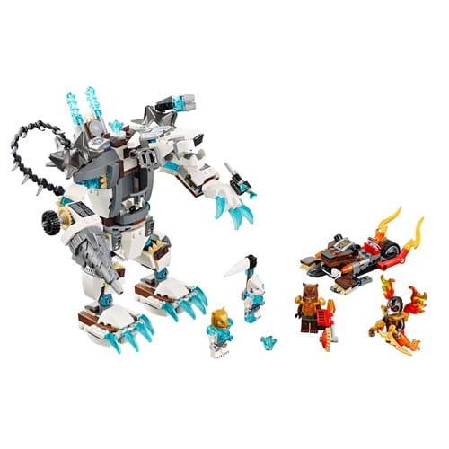 Купить Конструктор Lego Legends of Chima Лего Легенды Чимы Ледяной бур Айсбайта в интернет магазине игрушек и детских товаров