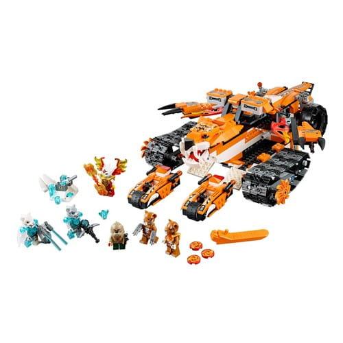 Купить Конструктор Lego Legends of Chima Лего Легенды Чимы Передвижной командный пункт тигров в интернет магазине игрушек и детских товаров