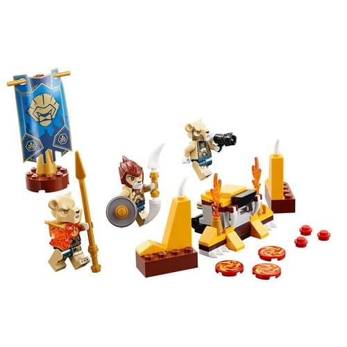 Купить Конструктор Lego Legends of Chima Лего Легенды Чимы Лагерь клана львов в интернет магазине игрушек и детских товаров