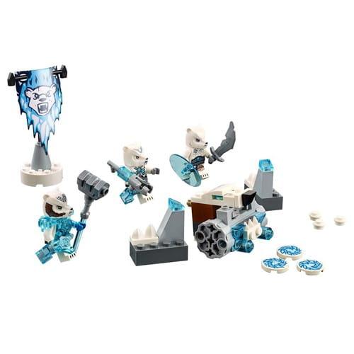 Купить Конструктор Lego Legends of Chima Лего Легенды Чимы Лагерь ледяных медведей в интернет магазине игрушек и детских товаров