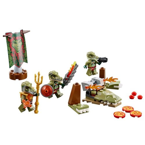 Купить Конструктор Lego Legends of Chima Лего Легенды Чимы Лагерь клана крокодилов в интернет магазине игрушек и детских товаров