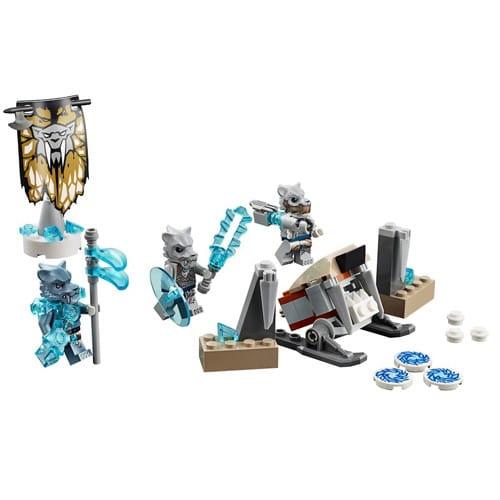 Купить Конструктор Lego Legends of Chima Лего Легенды Чимы Лагерь клана Саблезубых Тигров в интернет магазине игрушек и детских товаров