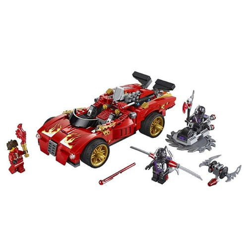 Купить Конструктор Lego Ninjago Лего Ниндзяго Ниндзя-перехватчик Х-1 в интернет магазине игрушек и детских товаров