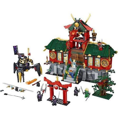 Купить Конструктор Lego Ninjago Лего Ниндзяго Битва за Ниндзяго Сити в интернет магазине игрушек и детских товаров