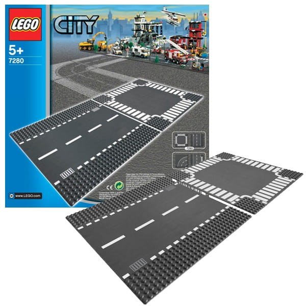 Игрушка Lego 7280 City Лего Город Перекресток