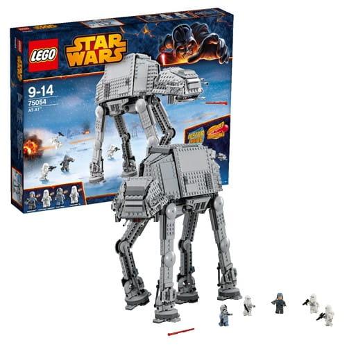 Купить Конструктор Lego Star Wars Лего Звездные войны Вездеходный бронированный транспорт AT-AT в интернет магазине игрушек и детских товаров
