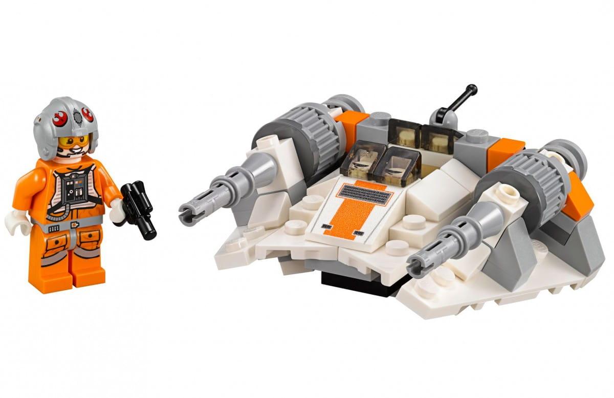 Конструктор Lego 75074 Star Wars Лего Звездные войны Снеговой спидер обновленный