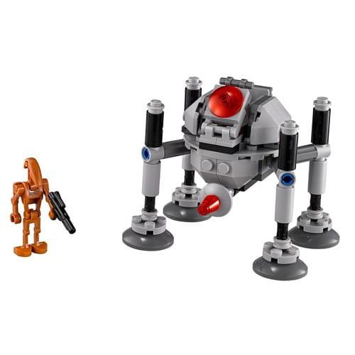 Купить Конструктор Lego Star Wars Лего Звездные войны Самонаводящийся дроид-паук в интернет магазине игрушек и детских товаров