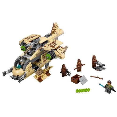 Купить Конструктор Lego Star Wars Лего Звездные войны Боевой корабль Вуки в интернет магазине игрушек и детских товаров