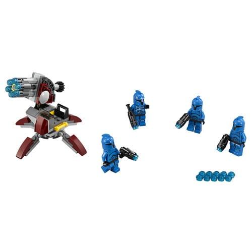Конструктор Lego Star Wars Лего Звездные войны Элитное подразделение Коммандос Сената