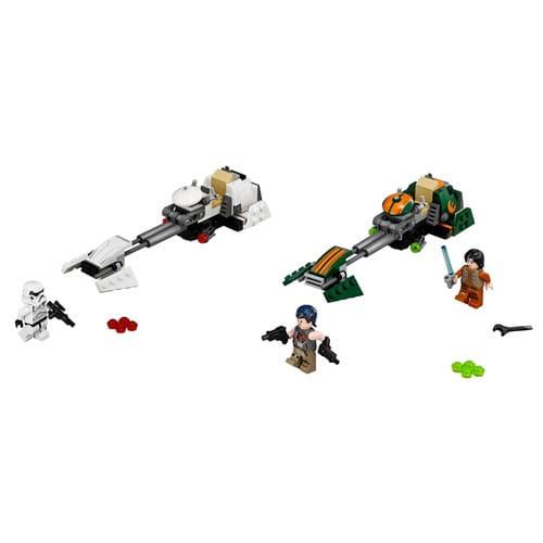 Купить Конструктор Lego Star Wars Лего Звездные войны Скоростной спидер Эзры в интернет магазине игрушек и детских товаров