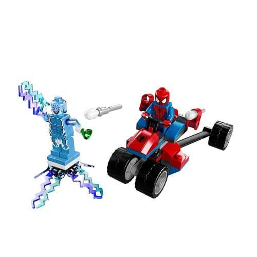 Купить Конструктор Lego Super Heroes Лего Супер Герои Трехколесный байк Человека-Паука против Электро в интернет магазине игрушек и детских товаров