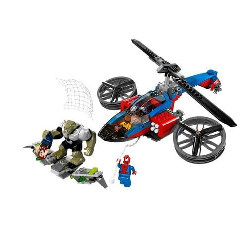 Купить Конструктор Lego Super Heroes Лего Супер Герои Спасательная операция на вертолете Человека-Паука в интернет магазине игрушек и детских товаров