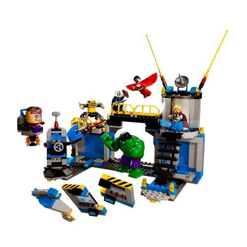 Купить Конструктор Lego Super Heroes Лего Супер Герои Лаборатория Халка в интернет магазине игрушек и детских товаров
