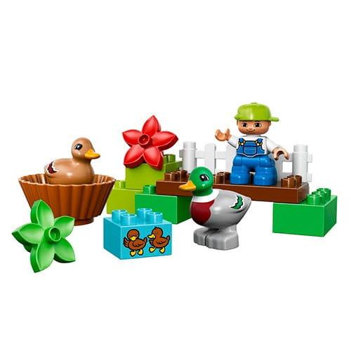 Купить Конструктор Lego Duplo Лего Дупло Уточки в лесу в интернет магазине игрушек и детских товаров