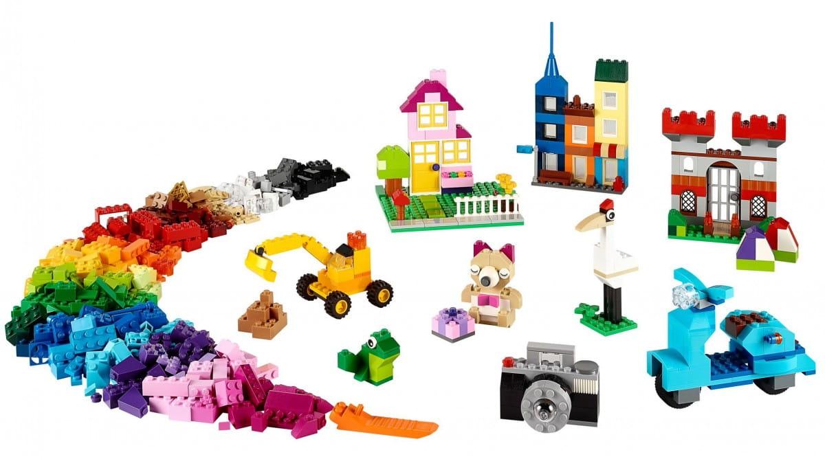 Купить Конструктор для творчества Lego Classic Лего Классик (большого размера) в интернет магазине игрушек и детских товаров