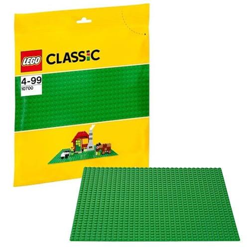 Купить Строительная пластина зеленого цвета Lego Classic Лего Классик в интернет магазине игрушек и детских товаров