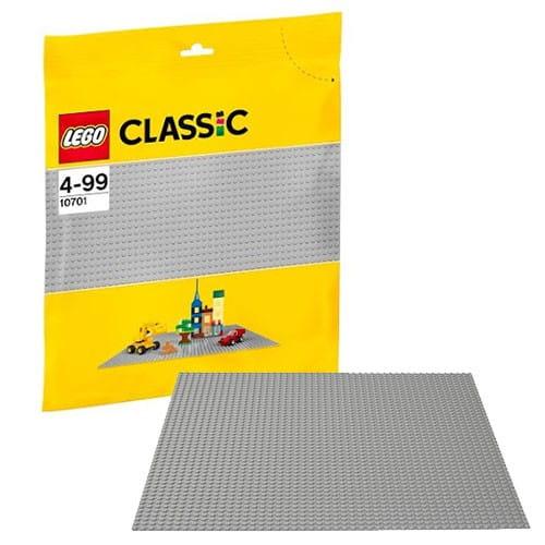 Купить Строительная пластина серого цвета Lego Classic Лего Классик в интернет магазине игрушек и детских товаров