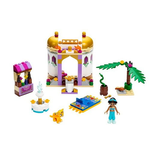 Купить Конструктор Lego Disney Princesses Лего Принцессы Дисней Экзотический дворец Жасмин в интернет магазине игрушек и детских товаров